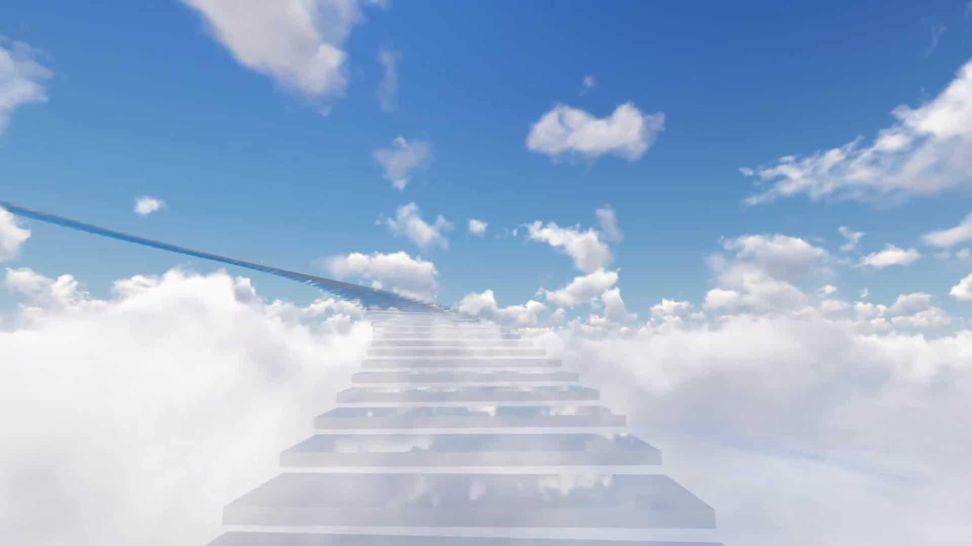 парня лестница в небо картинка для рабочего стола монолитного кухонного гарнитура